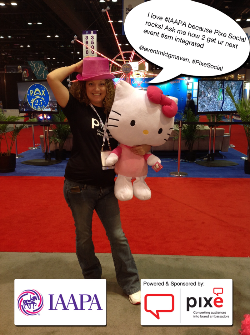 BeatCreative at IAAPA with PIXE Social