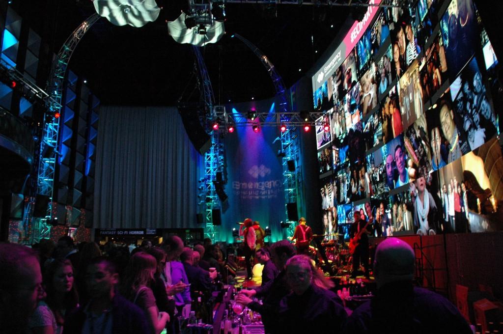 Social Media Display Event Decor with Postano