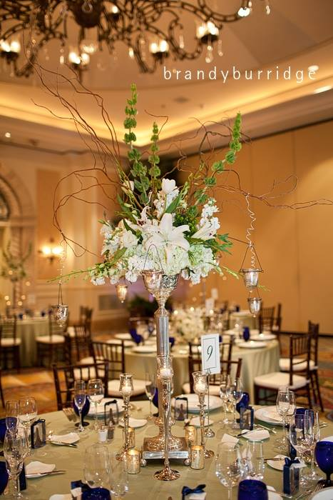 Lee James Floral Metallics in Floral 2014 event trends Brandy Burridge Photography