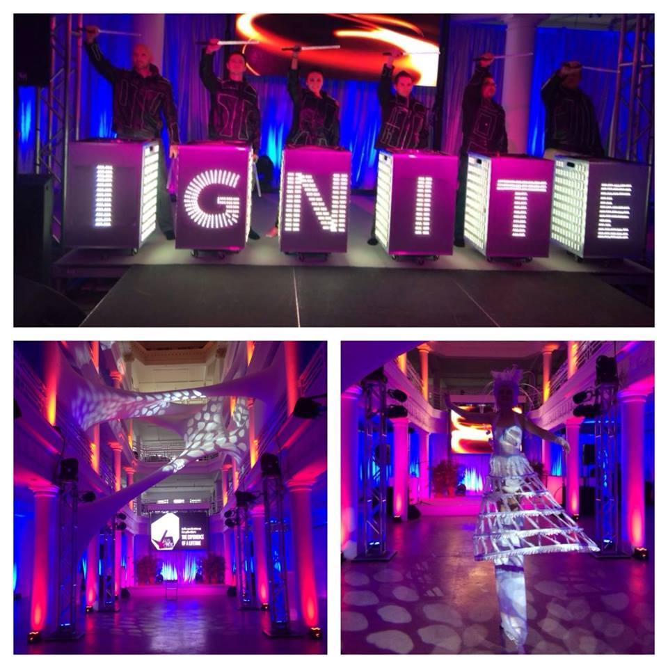 The VIBE Agency Bold Lighting Interactive Entertainment 2014 event trends