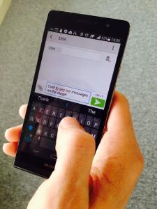 TweetWall SMS