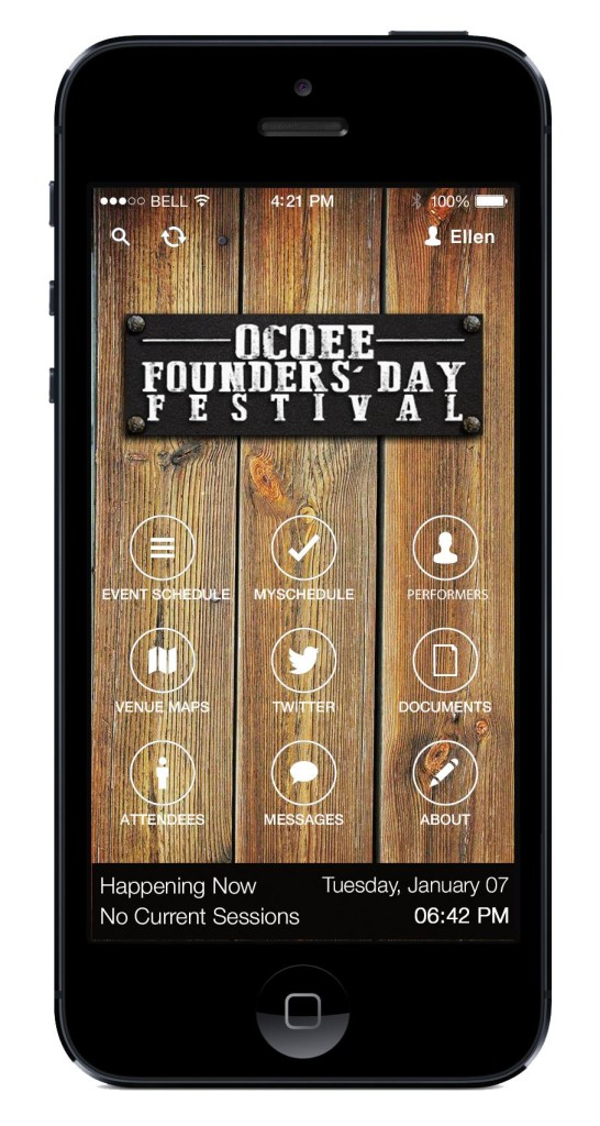 Ocoee Founders Day 2014 App BeatCreative Marketing