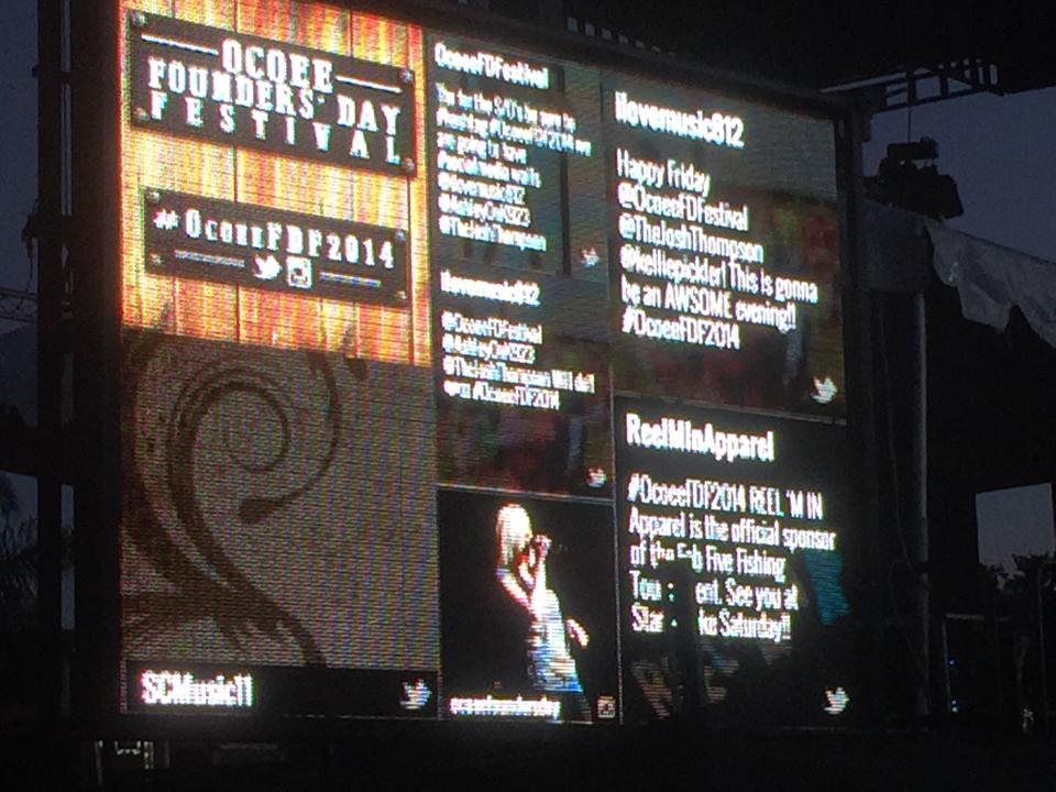 Event Social Media Wall Event's Live Social Media