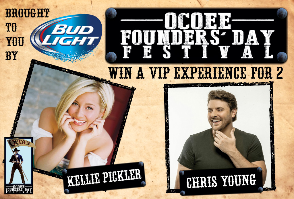 Ocoee Founders Day Win VIP FB promo
