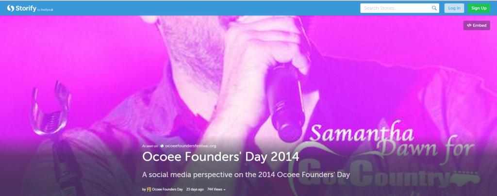 Ocoee FDF Storify