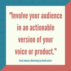 Experiential Marketing BeatCreative Quote