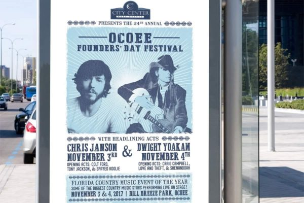 Ocoee Founders Day Festival - Graphics