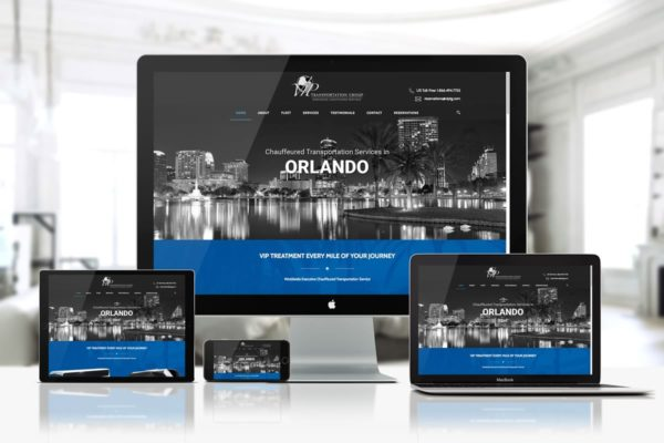 VIP Transportation Group - Web Design