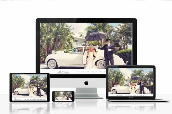 VIP Wedding Transportation - Web Design