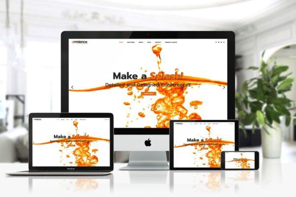 Omnience - Web Design